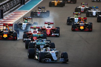 How much did Formula 1 teams spend in 2016?