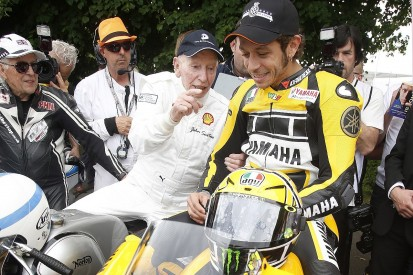 MotoGP legends collide: When Rossi met Surtees