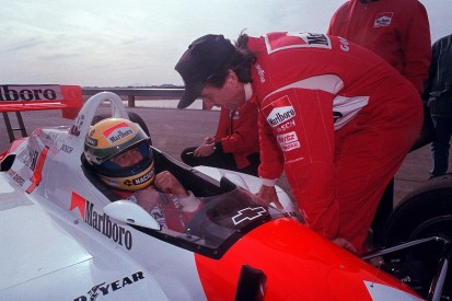 The full inside story of Senna's Indycar test