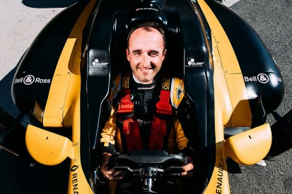 Behind the scenes of Kubica's F1 comeback