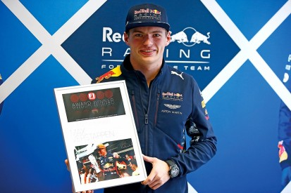 The winners of the F1 Racing Awards 2017