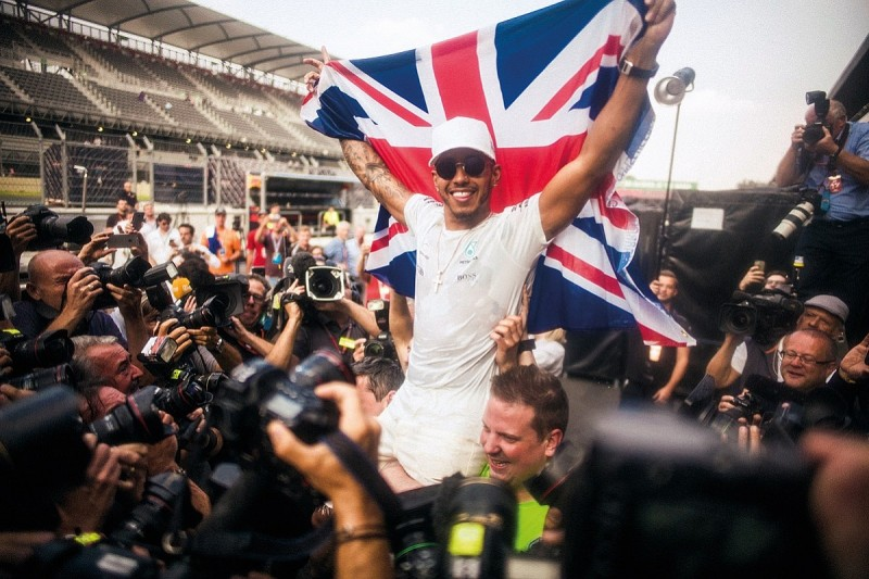 How Hamilton won what he'd waited years for