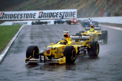 How Jordan conquered F1's craziest Belgian GP