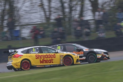 How the BTCC is making drivers rethink racing clashes