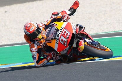 Why Marquez is crashing less when he should be crashing more