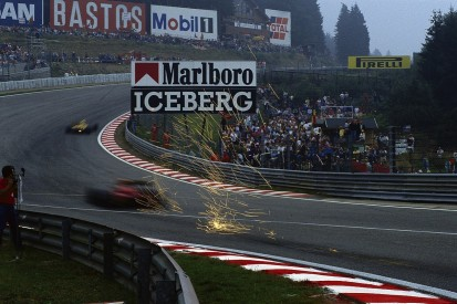 The evolution of Eau Rouge