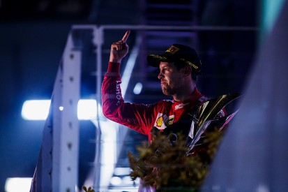 How a bad qualifying lap put Vettel on pole for Singapore win