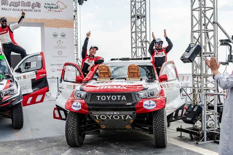 Why Alonso is already exceeding expectations in Dakar bid