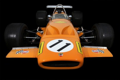 Bruce McLaren's last Formula 1 car