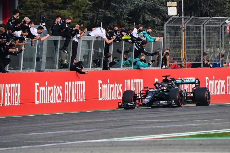 Would Hamilton have won at Imola without VSC fortune?