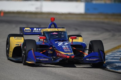 Rossi tops second day of Sebring IndyCar test and shakes down WTR Acura