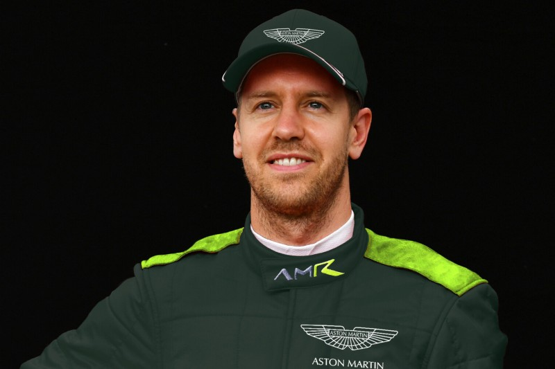 Erster Arbeitstag von Sebastian Vettel im F1-Team Aston Martin