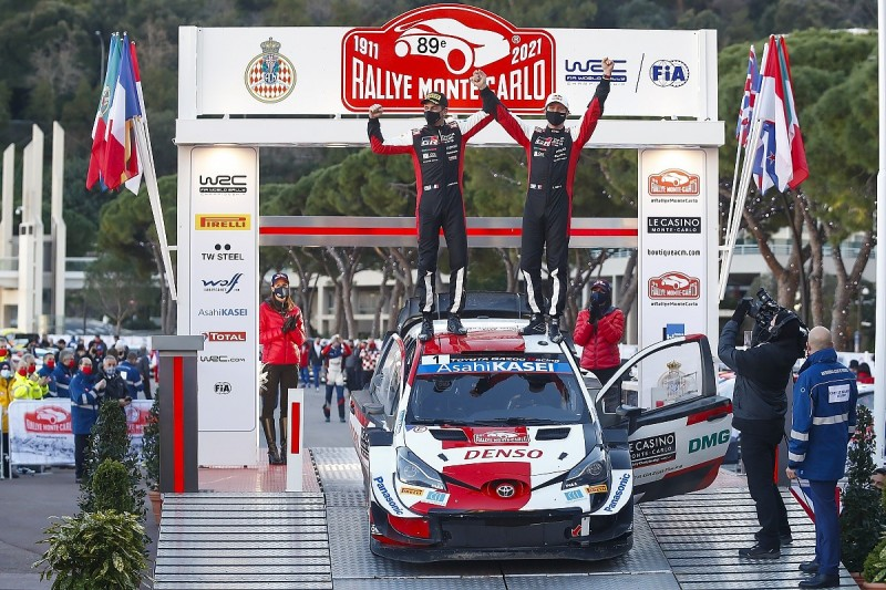 """Ogier """"proud"""" to be Monaco great like Senna after record WRC win"""