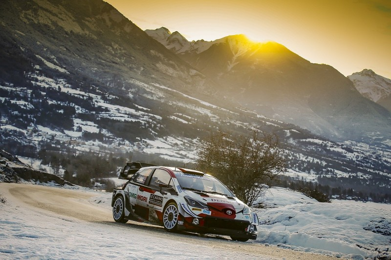 """Evans struggled to """"connect"""" with new WRC tyres in Monte Carlo"""