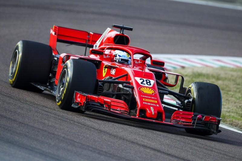Mit gleicher Startnummer wie Papa Jean: Alesis letzter Ferrari-Einsatz