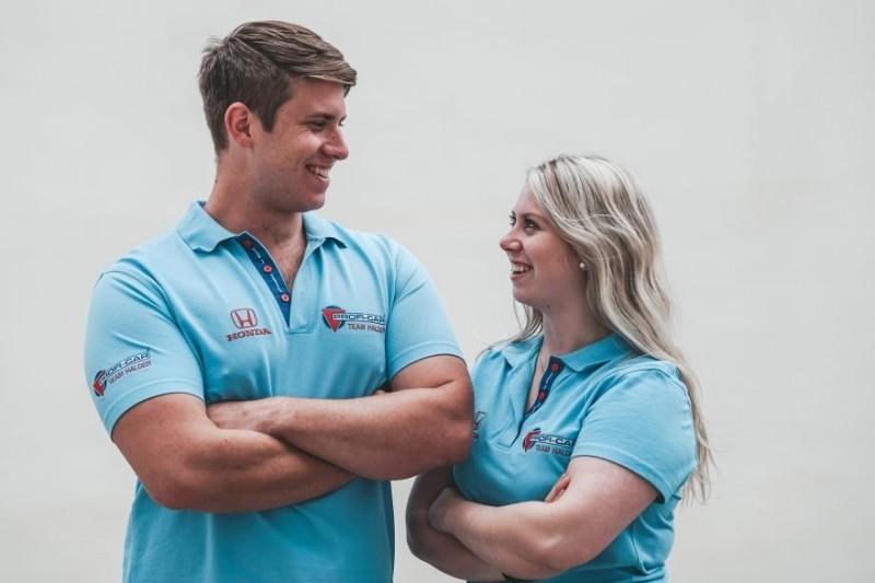 Michelle und Mike Halder streben 2021 Start im WTCR an