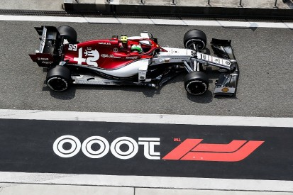 Alfa Romeo F1 team doesn't know what cost Giovinazzi Chinese GP FP1