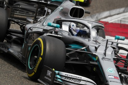 Chinese GP practice: Bottas leads practice halted by Albon crash