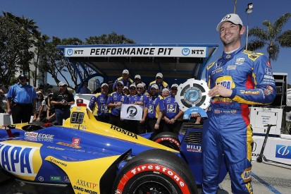 Long Beach IndyCar: Alexander Rossi repeats 2018 pole for Andretti