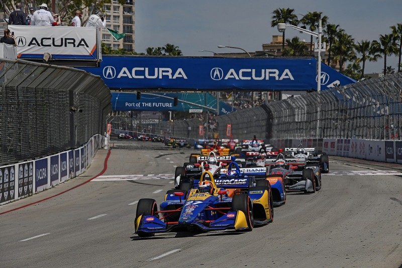 Long Beach IndyCar: Alexander Rossi dominant for Andretti Autosport