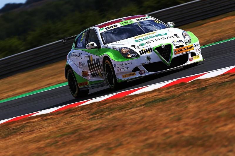 Rob Austin and HMS Racing Alfa squad to return for BTCC tyre test