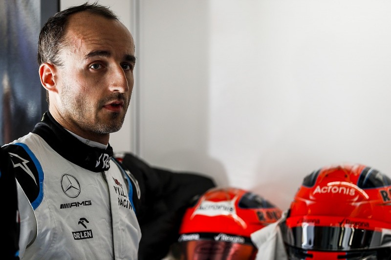 Williams F1's Kubica has 'no race pace', baffled by gap to Russell