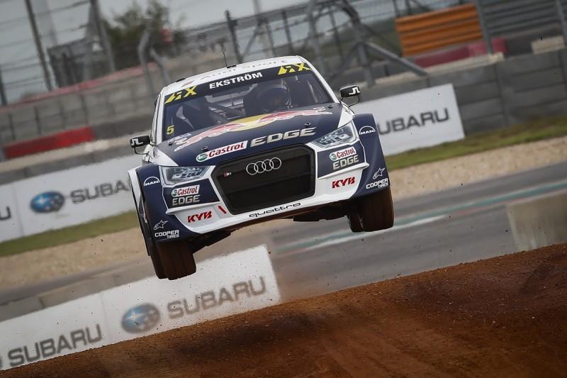 Ekstrom to Spa World Rallycross round in title winning Audi S1