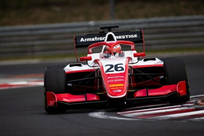 Ferrari F1 junior Armstrong tops FIA F3's first Hungary test day