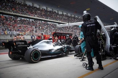 Mercedes: Stacked F1 Chinese GP pitstop was Toto Wolff's idea