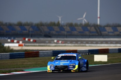 Audi's Frijns tops DTM pre-season test at Lausitz, best Aston 10th