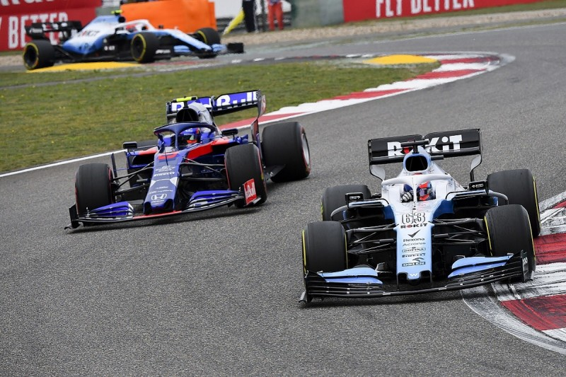 Williams must develop at 'triple rate' to catch F1 rivals - Russell