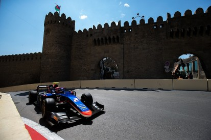 Honda F1 junior Matsushita takes Baku F2 pole in delayed qualifying
