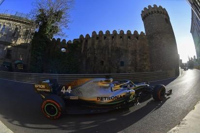 Hamilton doubts Mercedes can catch Ferrari by Baku qualifying