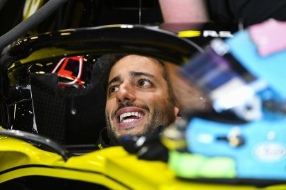 "Ricciardo: Baku F1 FP2 made ""strange"" by running out of tyres"