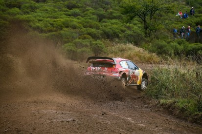 Rollcage damage ends Citroen driver Lappi's Rally Argentina