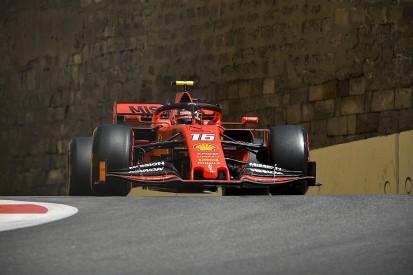 Azerbaijan GP practice: Charles Leclerc on top as Ferrari dominates