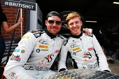 Promoted: British GT baptism of fire for Aston Martin's Toth-Jones