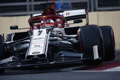 Alfa Romeo's Raikkonen excluded from F1 qualifying in Baku