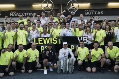 "F1 2019 one-two streaks ""flatters"" Mercedes team - Toto Wolff"
