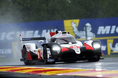 Spa WEC: Alonso puts #8 Toyota on top in wet second practice