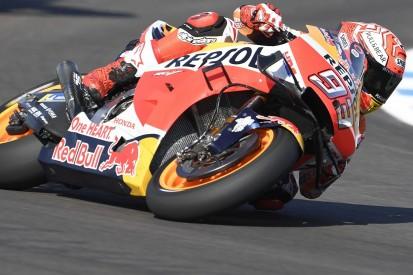 Jerez MotoGP: Marquez leads Lorenzo in Honda one-two in practice
