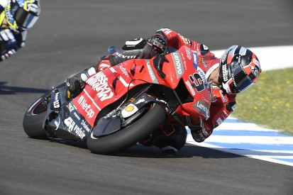 Jerez MotoGP: Petrucci leads Ducati one-two in red-flagged FP2