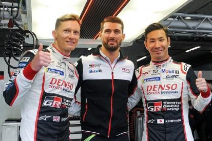 Kobayashi and Conway score Spa WEC pole for Toyota