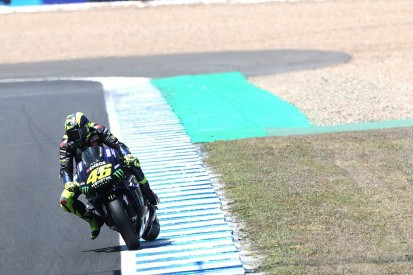 "Valentino Rossi: Yamaha MotoGP bike ""in trouble"" at Jerez"