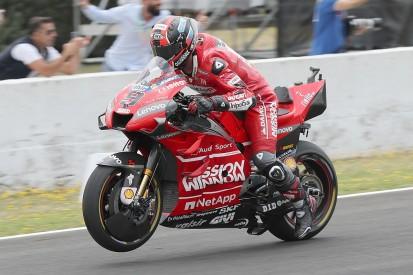 Jerez MotoGP: Petrucci fastest, Crutchlow crashes, Yamaha slow