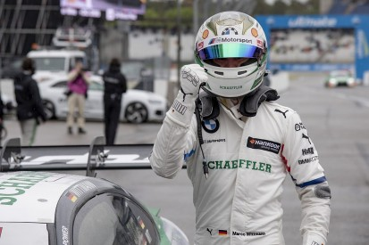 Hockenheim DTM: BMW's Wittmann takes pole in wet session