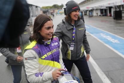 Hockenheim W Series: Jamie Chadwick on pole by nearly two seconds