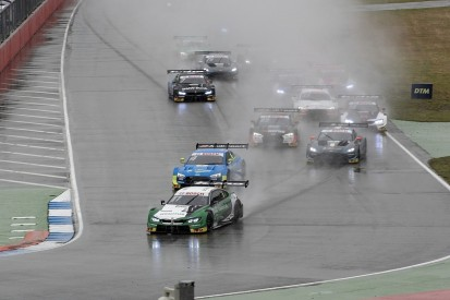 BMW's Wittmann wins from pole in wet Hockenheim DTM opener