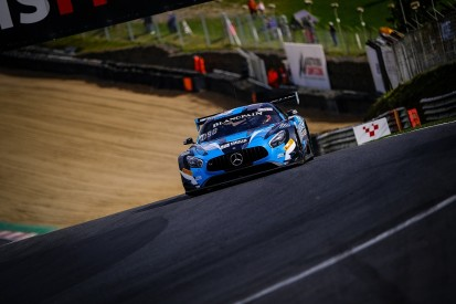 Mercedes duo Stolz and Schiller take Blancpain poles at Brands Hatch