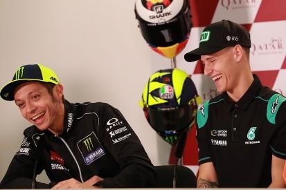 Rossi: SRT beating works Yamahas with same bike in Jerez MotoGP
